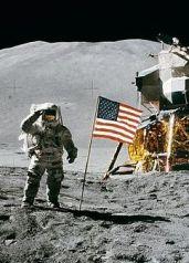 by astronaut David R. Scott, Apollo 15 commander via Wikimedia Commons